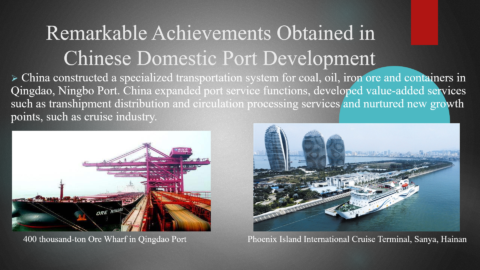 Presentation by Mr. LIU Xiaoming, Vice-Minister of Transport of China